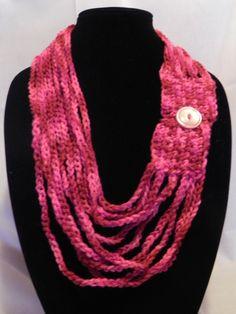 CROCHET PATTERN NECKLACE TRELLIS YARN FREE - Crochet Club