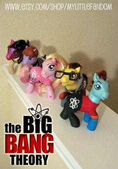 Big Bang Theory PONIES!!!