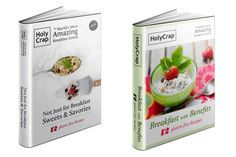 FREE Recipe ebooks from Holy Crap cereal. download a pdf file or go to itunes