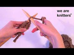 3. El punto derecho / Knit Stitch