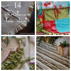 14 Tree Skirts to Sp