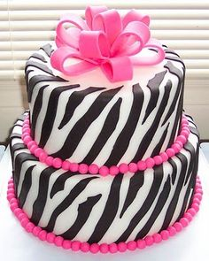 Awesome Zebra Cakes