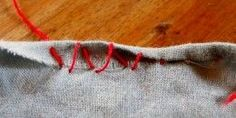 How to Sew a Rolled Hem by Hand