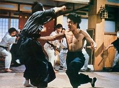 Bruce Lee in a Frenzy - Movie: Fist of Fury