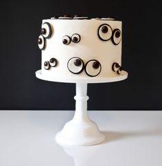 Monster Eyes DIY Cake