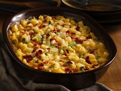 Cheesy Bacon Hash Brown Bake - Treat your family to this cheesy baked dinner featuring potatoes, bacon and Progresso™ Recipe Starters™ cheese sauce.