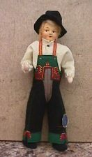 Vintage MINT 7 1/2 Ronnaug Petterssen Boy Doll w Tag - Norway