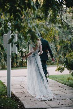 Romantic Outdoor Fall Wedding