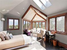 nice sunroom sitting area