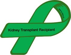 Kidney Transplant | Custom Ribbon: Kidney Transplant Recipient