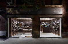 Aesop new york, by tacklebox. shop, store, news, aesop univers, aesopunivers, places, design, univers place, retail
