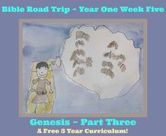 Bible Road Trip Year One Week Five {FREE Printable Curriculum}