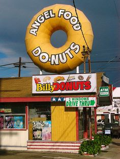 Angel Food Donuts... Long Beach, California