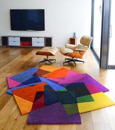 After Matisse Rug by Sonya Winner #Rug #Sonya_Winner