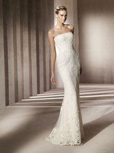 2012 Wedding Dresses by Manuel Mota | OneWed
