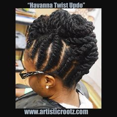 Havanna Twist Updo