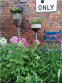 funnel planters