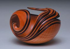 Katrina, 2006, by Leon Lacoursiere; Curly Maple.