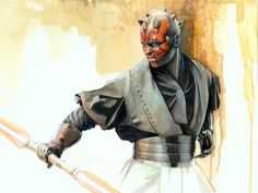 Darth Maul by Brian Rood