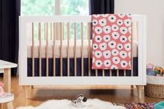 Lolly 3-in-1 Convertible Crib with Toddler Rail | Babyletto