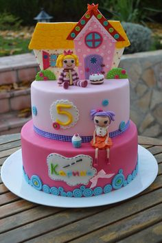 Lalaloopsy cake - by Pavlina @ CakesDecor.com - cake decorating website