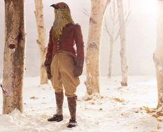 "rgogopost : © Paolo Ventura (The Birdman, 2009, digital color print, 30"" x 40"", 40"" x 50"" ( )"