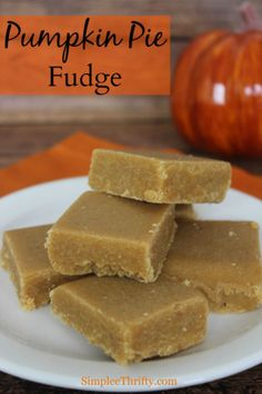 Pumpkin Pie Fudge: If you are looking for a tasty Halloween Treat or Fall Recipe we have one for you. Pumpkin Pie Fudge, oh and is it delicious. This will be a hit no matter what the occasion is. Whip of this Pumpkin Pie Fudge in no time.