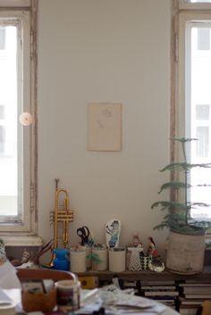 Sandra Juto's studio