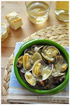 Salseando en la cocina: Almejas a la bizkaina