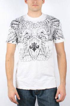 Affliction – Mens Predatory Crewneck T-Shirt « Clothing Impulse