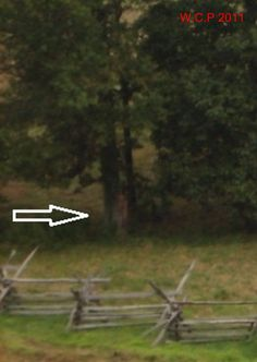 This is possible paranormal evidence on film. Taken in Gettysburg, there was no person present here where someone appears to be standing near the trees. You decide...