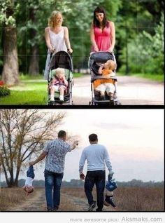 Moms Vs Dads! Lmao