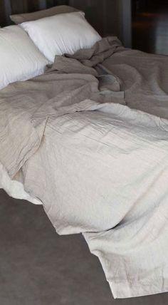Rough Linen™ real, natural linen summer cover