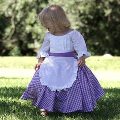 19th Century Inspired Costume Dress - Colonial, Prairie, Pioneer, Tea Party, Halloween on Etsy, $72.00
