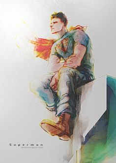 Superman in Action Comics 01 by Haining-art