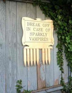 Watch out Edward!