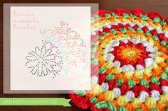 Amigurumi Food: Mandala Free Crochet Pattern! foods, crochetmandala, yarn craft, amigurumi food, crochet free patterns, mandalas crochet, crochet project, mandala crochet free, crochet patterns