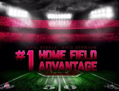 "PHIL STEELE RATES "" THE SHOE "" AS HAVING THE #1 HOME FIELD ADVANTAGE-BY SAMUEL SILVERMAN."