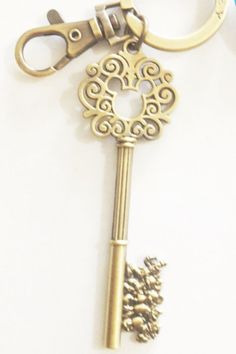 Gold Mickey Mouse Key