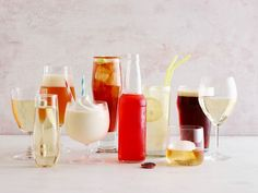 Cold Drinks Paired with Summertime Foods