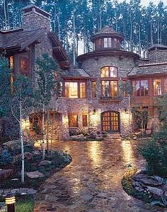mountain mansion