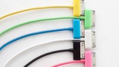 colorful iphone chargers