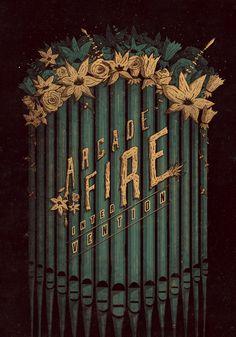 Arcade Fire - Intervention Poster