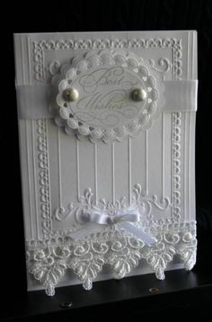 White on white...very elegant