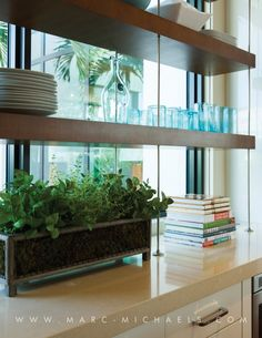 over counter kitchen shelving