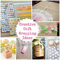 Creative Gift Wrapping Ideas! Quick, Easy, Inexpensive  Cute