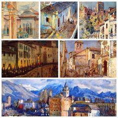 Granada. Imágenes parciales.