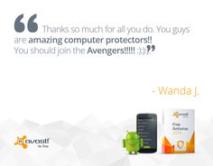 #AVAST provides with best #antivirus protection. Most trusted #security application.