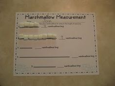Marshmallow Measurement