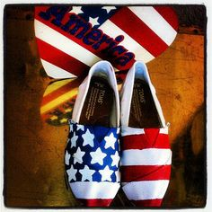 custom tom, flags, style, tom shoes, flag custom, american flag, toms outlet, 4th of july, usa american